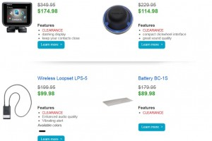 50% OFF Nokia USA accessories.