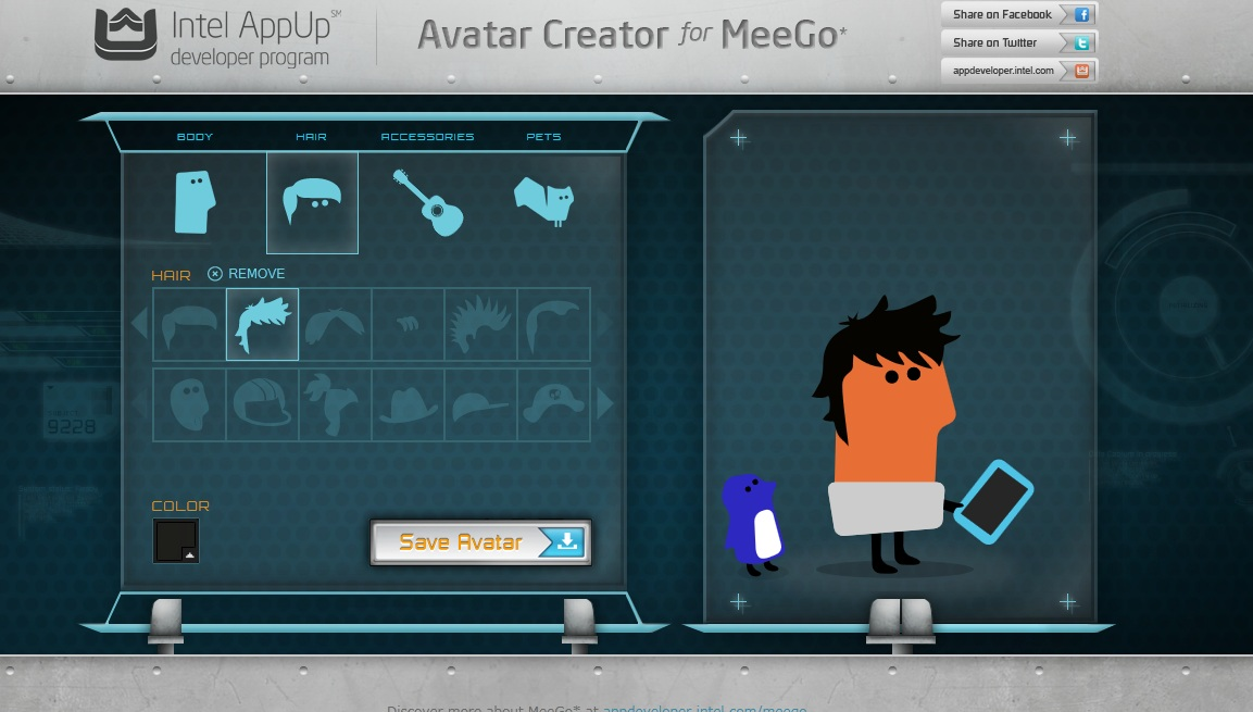 MeeGo Avatar Creator – Make your own MeeGo Mascot : My Nokia Blog ...: mynokiablog.com/2011/05/29/meego-avatar-creator-make-your-own-meego...