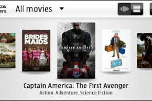 Nokia Trailers app out now in the Ovi store…..and boy does its look pretty