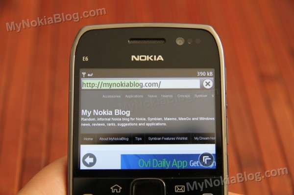 Nokia E6: Brightest screen ever tested by GSM Arena, higher pixel density than iPhone 4 retina display