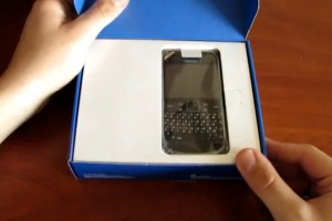Video: Nokia E6 Unboxing