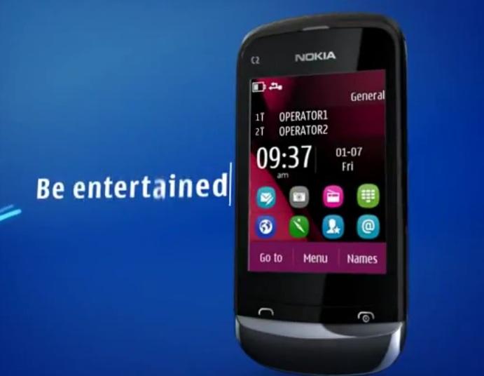 Nokia c2 03 themes with tone