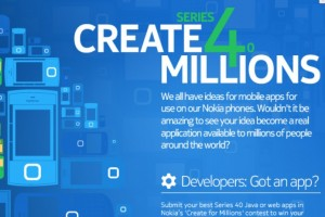 Making apps for Nokia's Next Billion – S40 – prize total worth up to €1,000,000 – win trip to Nokia World 2011