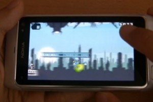 Video: Gravity Guy demoed on Nokia N8, available at Ovi Store