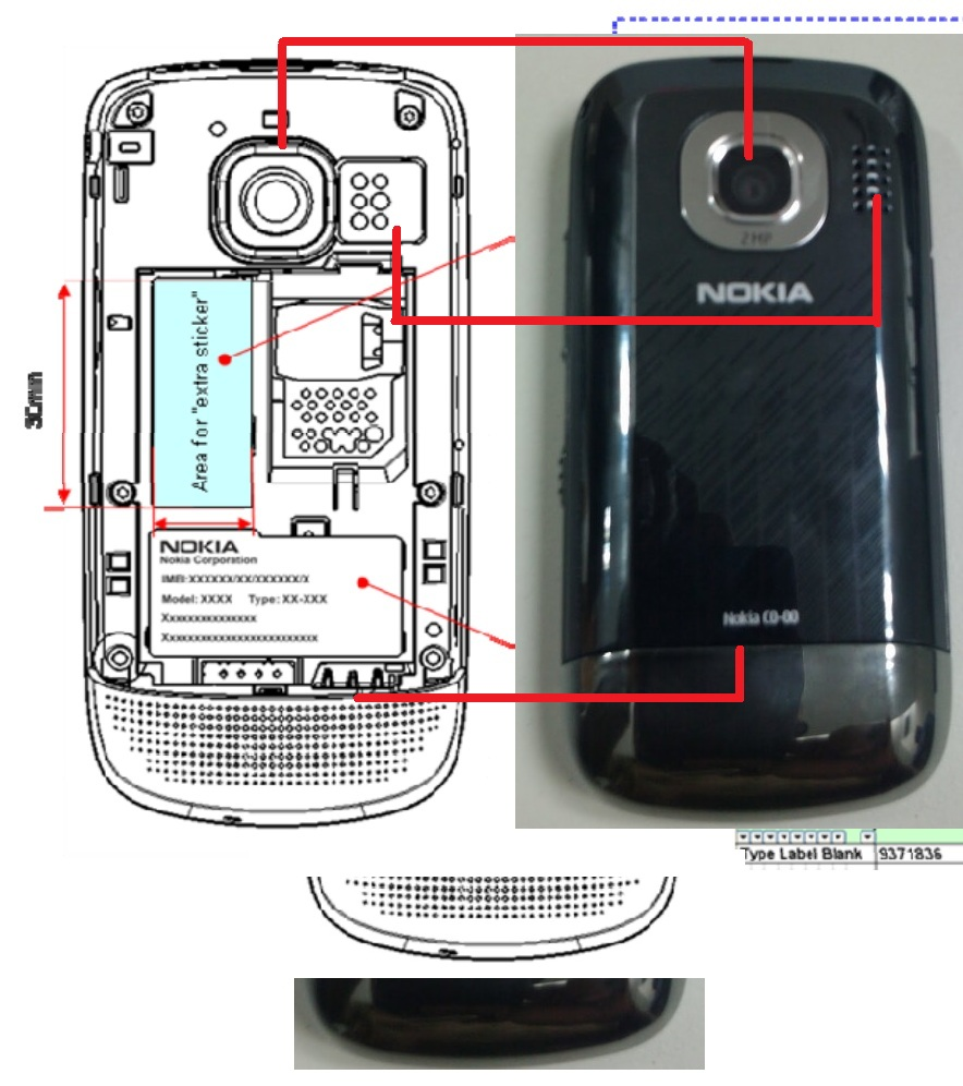 nokia c2 05 passes fcc slider touch and type rm 725 my nokia blog 200. Black Bedroom Furniture Sets. Home Design Ideas
