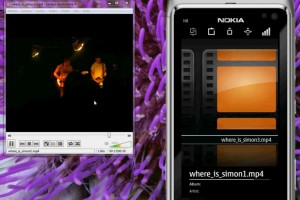 Video: Qt VLC remote control for Symbian^3 available at Ovi Store