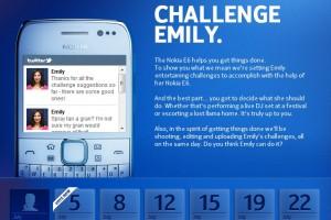Challenge Emily: Win a Nokia #E6 #GettingMoreDone