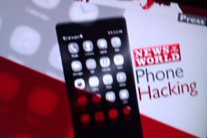 Nokia N9/MeeGo-Harmattan phone on BBC Breakfast News as image for News of the World Phone Hacking story?