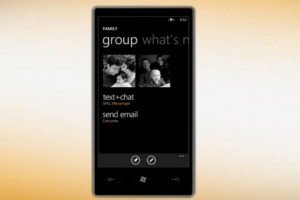 Video: Groups in people hub on Windows Phone.