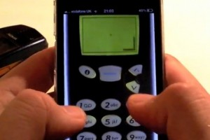 Nokia and Snake on your iPhone