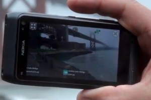 Video: Nokia Live View augmented reality browser (experimental from Beta Labs) demoed on N8