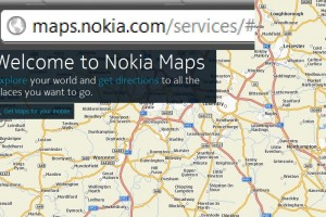 Welcome to Nokia Maps at maps.nokia.com. Bye Ovi Maps!
