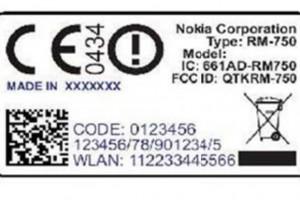 Nokia RM-750 (Nokia 500/Fate) passes FCC.
