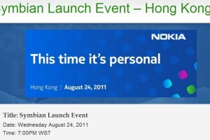 Symbian Belle Event in 90 minutes time (12:00, BST) What are you expecting?
