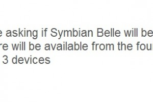 Nokia N8, E7, C7, E6, C6-01, X7 to get Symbian Belle from Fourth Quarter (2011?) onwards