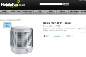 MobileFun confirms Nokia N9 coming to UK in very near future, has Play 360 Speakers on preorder