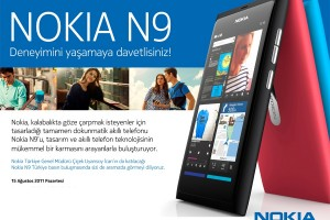 Nokia N9 for Turkey – launch event on August 15