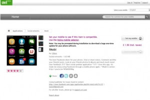 fMobi available at Ovi Store (and featured on Nokia Conversations)