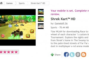 Gameloft&#8217;s Shrek HD available at Ovi Store