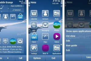 Themes: Sky by Hank &#8211; Free at Ovi Store