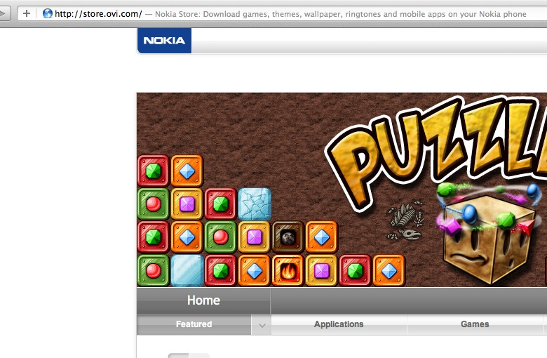 nokia ovi store games free download Developers was