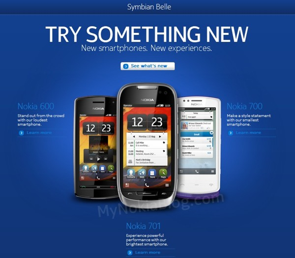 Symbian Belle Launch Site (N8, E6, E7, C6-01, C7 and X7