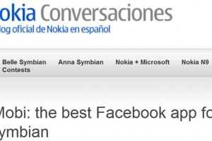 fMobi crowned Best Facebook app for Symbian by Nokia Conversations (En Español)