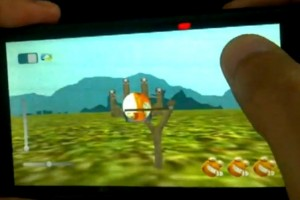 3DHappyFrog for Harmattan (Qt3D/Qml+Bullet physics engine) – Like a 3D Angry Birds