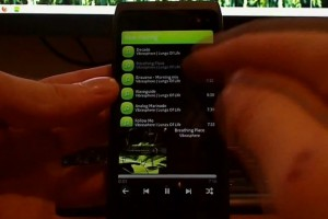 Videos: Qspot Spotify client and Gravity guy demoed on Nokia N950, MeeGo-Harmattan