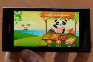 Video: Porting to Qt: Lola's Fruit Shop Sudoku demoed on Nokia N9