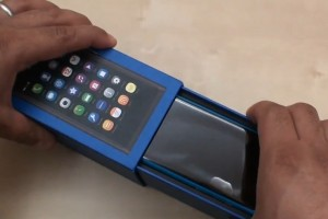 Video: Nokia N9 Blue unboxing and hands on with MeeGo-Harmattan