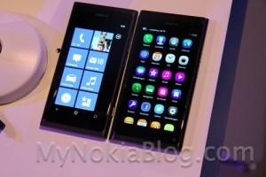 Pics: Nokia N9 vs Nokia 800