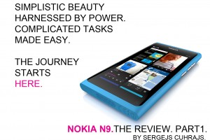 Nokia N9. The Review. Part 1.