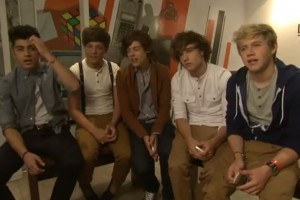 One Direction launch their new Nokia Mobile Phones at The Carphone Warehouse