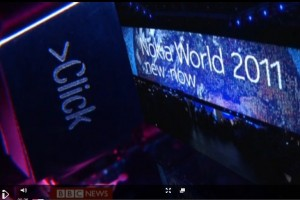 BBC Click on Nokia World 2011 and Nokia Lumia 800
