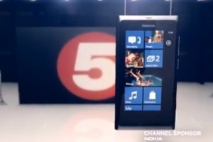 Videos: Channel 5 Nokia Lumia 800 idents (and Lumia 800 promos)