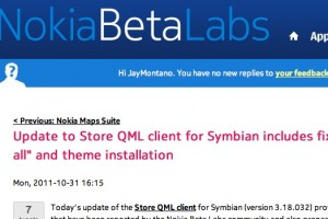 Update: Store QML client for Symbian with fixes for &#8220;Update all&#8221; and theme installation