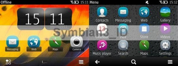 Symbian Belle on Nokia E6