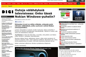 MyNokiaBlog mentioned at iltalehti.fi