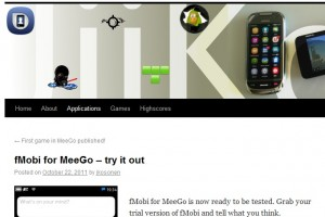 fMobi for MeeGo trial ready to try out
