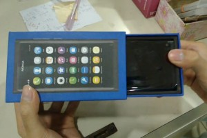 Video: Nokia N9 Unboxing (recorded by Nokia N9) #n9ception