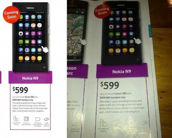Nokia N9 coming to Vodafone New Zealand : My Nokia Blog