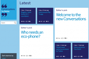 Nokia going Metro: New Conversations website