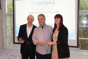 Awards for Nokia CEO, Stephen Elop and Windows Phone (OS of the year)
