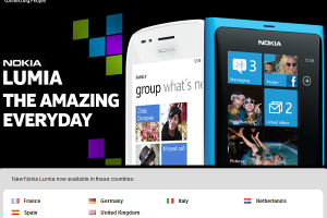 Nokia Lumias (800 & 710) available in select countries NOW?