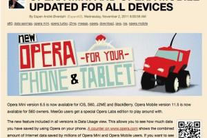 "MeeGo gets Special ""Opera Labs"" edition of browser (Update: False Alarm?)"