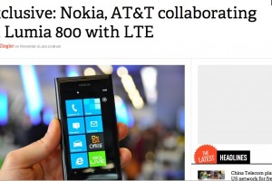 AT&T (along with Verizon) to bring Nokia Windows Phones with LTE