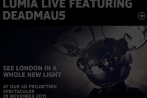 Win tickets for the 4D projection spectacular in London with DEADMAU5