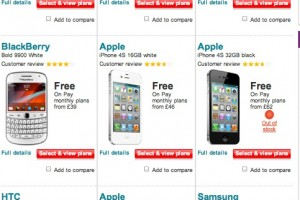 Nokia Lumia 800 takes two top 3 spots in Vodafone's Most Popular page?