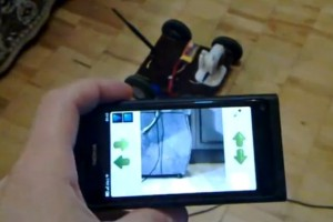 Video: Nokia N9 and WiFi Controlled Car (with video stream)